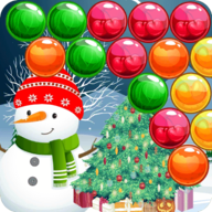 Bubble Snowman APK