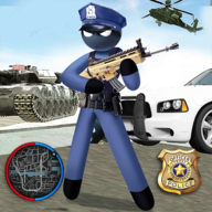 US Police Stickman Rope Hero APK