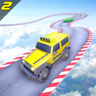 Taxi Jeep Car Stunts Games 3D APK
