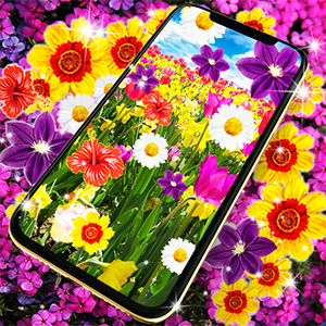 Flowers live wallpaper APK