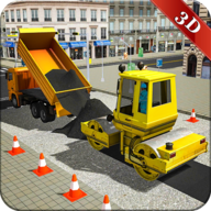 City Road Construction Simulator 2018 Real Builder APK