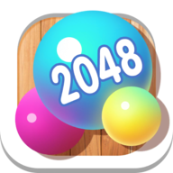 2048 merge ball APK
