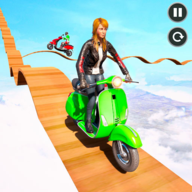 Scooty Stunt Impossible Tracks APK