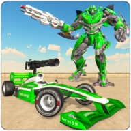 Formula Robot Car Transform: Robot Wars APK