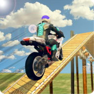 Bike Stunt Racing Master Impossible 3d Mega Ramp APK