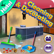 Hotel Cleaning : Decorating Game APK