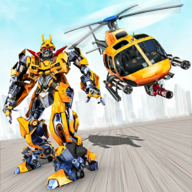 Helicopter Robot Game APK
