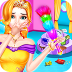 princess house cleaning - home clean up game for girls APK