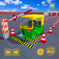 Rickshaw Driving Adventure – Tuk Tuk Parking Game APK