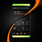 Dark Carbon Fiber APK