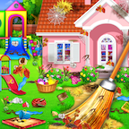 Sweet Home Cleaning Princess House Cleanup Game APK