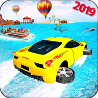 Water Surfer Car Driving 3D APK
