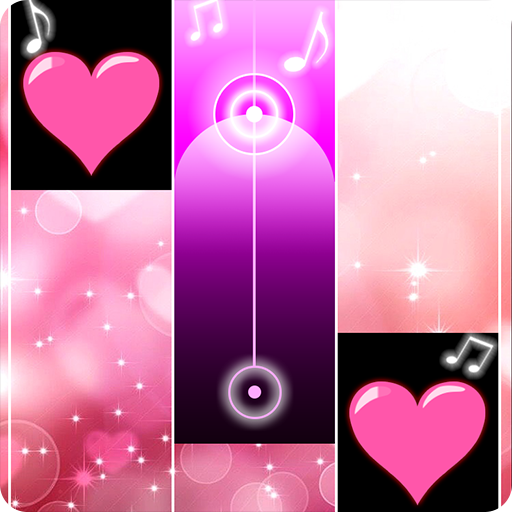 Lovely Heart Piano Tiles APK