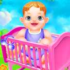 Baby Care Girls Play Game APK