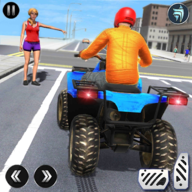 Rooftop ATV Quad Bike Rider Bike Games APK