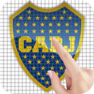 CONMEBOL Football Badges Color by Number - Pixel Art Game APK