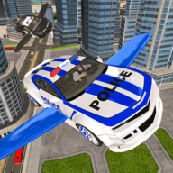 Drive Real Futuristic Police Flying Car 3D APK