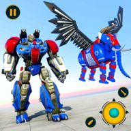 Flying Elephant Robot APK
