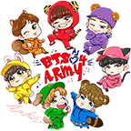 BTS Stickers Share APK