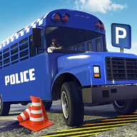 Police Bus Parking Simulator Coach Bus Simulator APK
