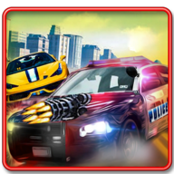 Police Chase Vs Thief: Police Car Chase Game APK