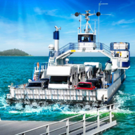 Car Transporter Ship Simulator APK