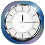 Chrome Analog Clock APK
