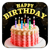 Personalizing Birthday Cake with Name and Photo APK