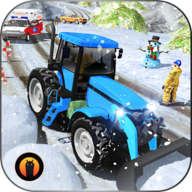 Snow Plow Truck Driving: Snow Hill Rescue 2019 APK
