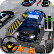 Classic Police Car Real Parking 2019 APK