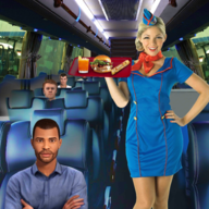Virtual girl tourist bus waitress jobs : Dream Job APK