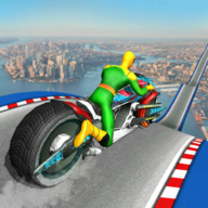 Moto Spider Vertical Ramp: Jump Bike Racing Game APK