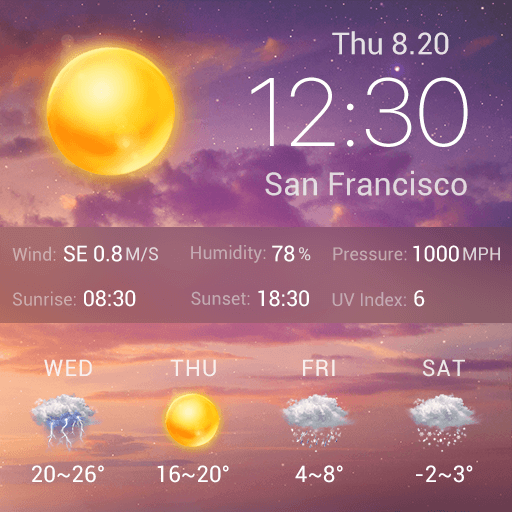 Dawn Weather APK
