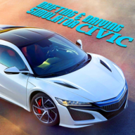 Drifting and Driving Simulator Civic Game APK