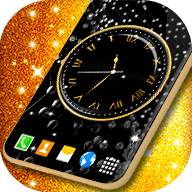 Black HD Clocks Wallpaper APK
