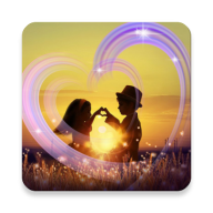 Romantic effects, photo video maker with music APK