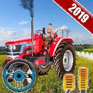 Real Tractor Drive Simulator 2019 : Farming Game 3d APK