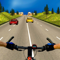 Bicycle Rider Traffic Race 17 APK