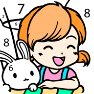 Kawaii Color by Number APK