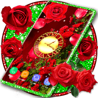 3D Parallax Red Roses Wallpapers APK