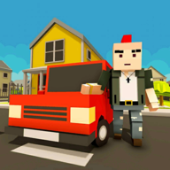 Virtual Life In A Simple Blocky Town APK