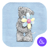 Cute Bear Theme APK