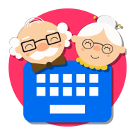 Keyboard for Seniors APK