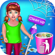 Baby Girl Cleaning Home : Keep Your House Clean APK