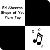 Shape of You Piano Tap APK