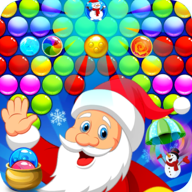 santa christmass bubble APK