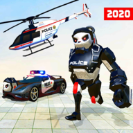 Grand Police Robot Transform Simulator APK