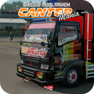 Livery BUSSID Mod Truck Canter APK