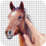 Horses Color by Number - Pixel Art Game APK