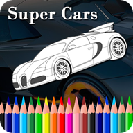 SuperCar Coloring Book APK